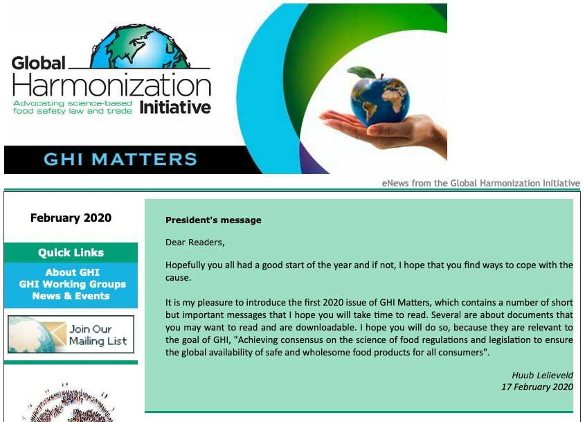 GHI Matters February 2020