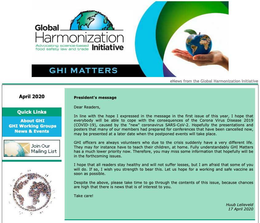 GHI Matters April 2020